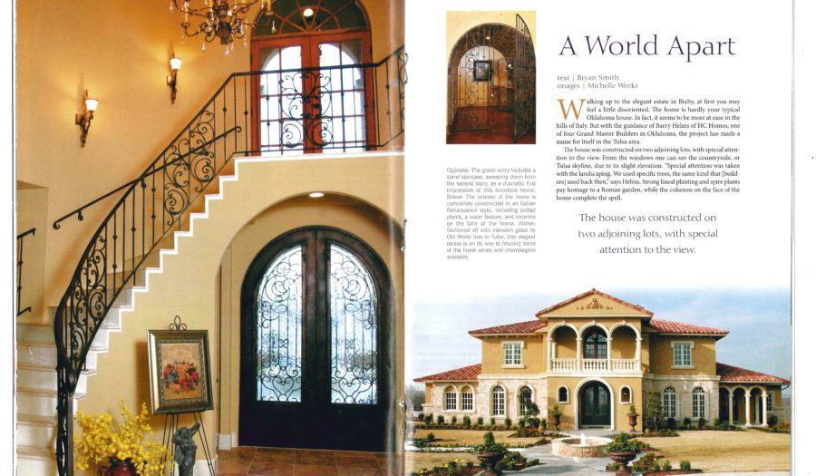 House to Home_2005_Villa_Article pg 1