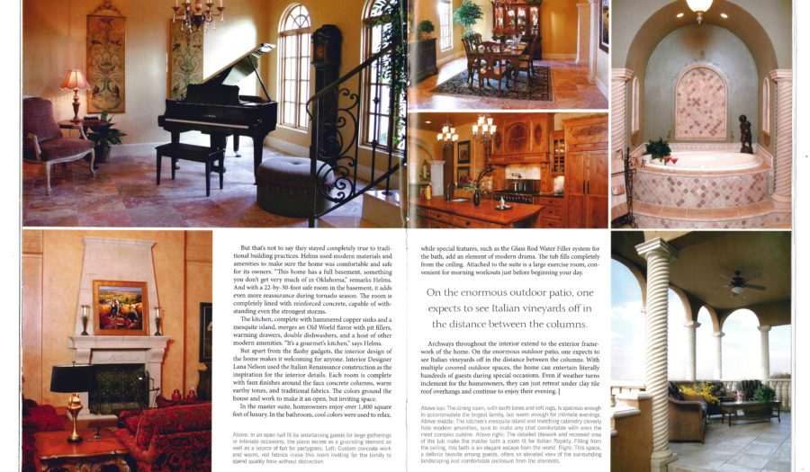 House to Home_2005_Villa_Article pg 2